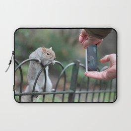 Posing Squirrel Laptop Sleeve
