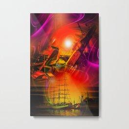 Sailing romance 12 Metal Print