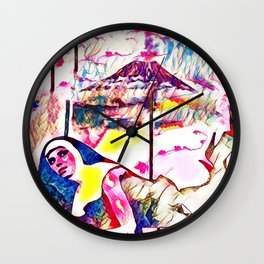 The Sin Eruption Wall Clock