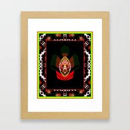 Spirit Shield Framed Art Print