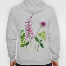scabious, hydrangeas and more branches Hoody