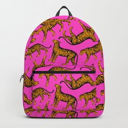 Tigers (Magenta and Marigold) Backpack