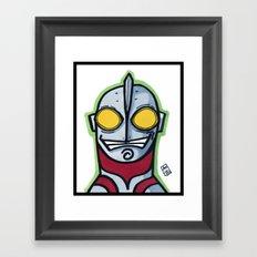 Ultraman Framed Art Print
