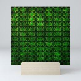 Emerald Arches Mini Art Print