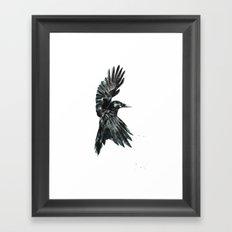 Crow 2 Framed Art Print