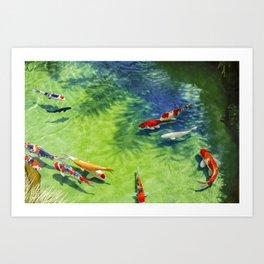 Fish watercolor IV Art Print