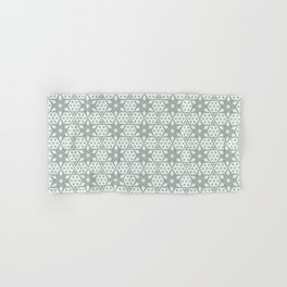 Stars and Hexagons Pattern - Ancient Stone Hand & Bath Towel