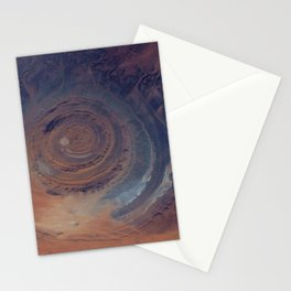 eye in the sky, eye in the desert | space #01 Stationery Cards