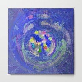 Abstract Mandala 222 Metal Print