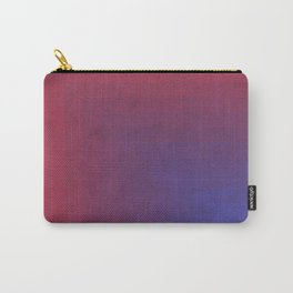Abstract Rectangle Games - Gradient Pattern between Dark Blue and Moderate Red Carry-All Pouch