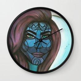 Neptune Girl Wall Clock