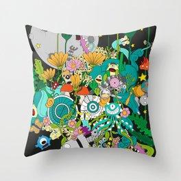 Imaginary Land Throw Pillow