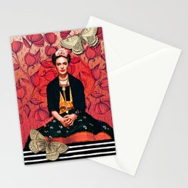 Frida enamorada Stationery Cards