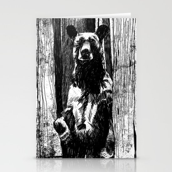 Bear With Me Stationery Cards