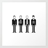 coldplay Art Prints featuring Coldplay by Band Land