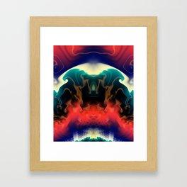 Fractal Mystery Framed Art Print