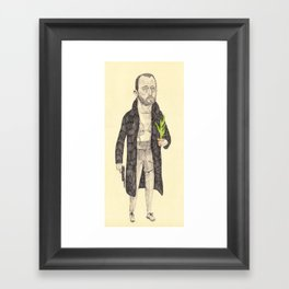 Léon Framed Art Print