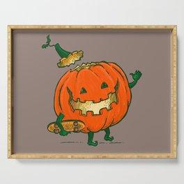 Skatedeck Pumpkin Serving Tray