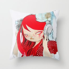 That Bass! Throw Pillow