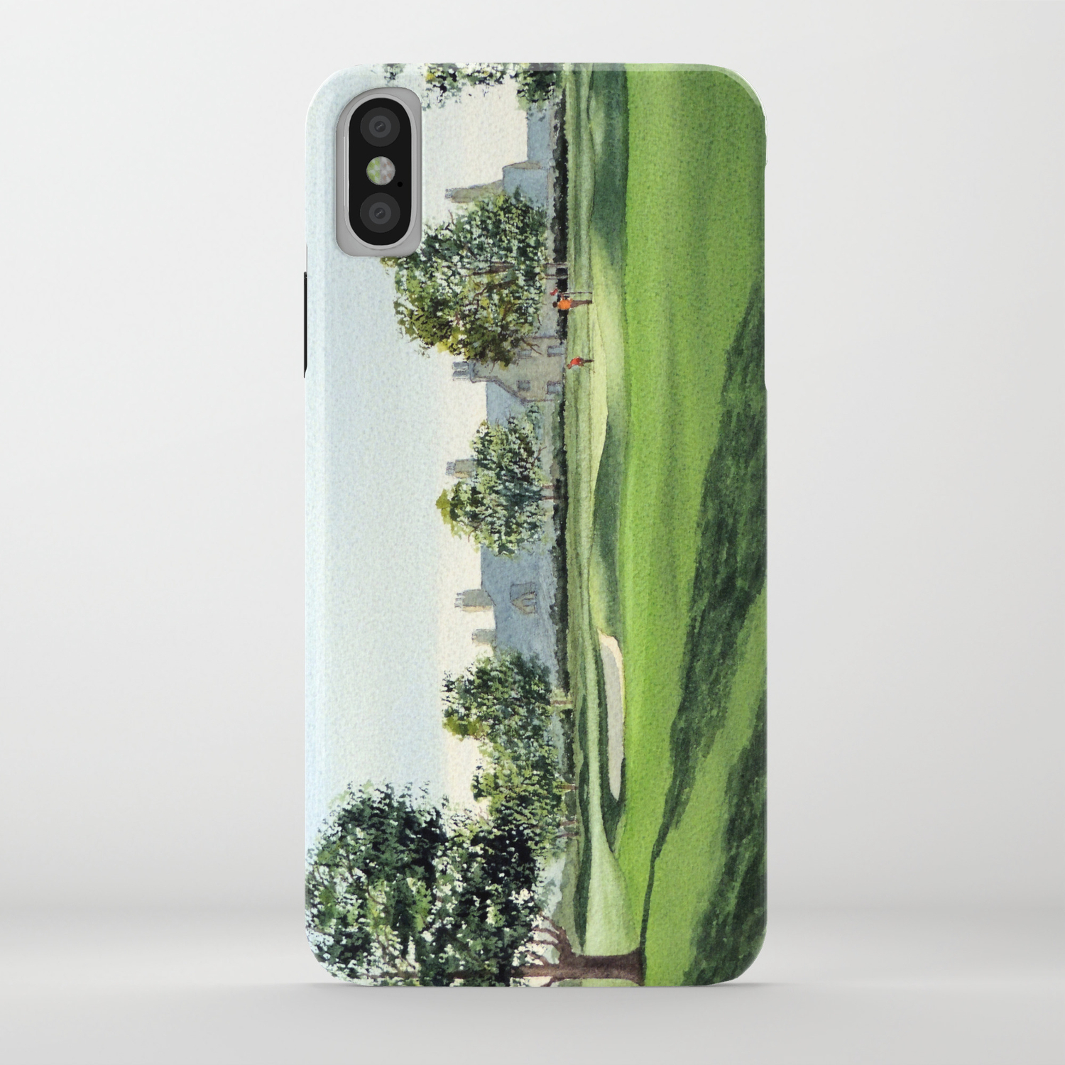 Winged Foot Golf Course New York Iphone Case By Billholkham Society6