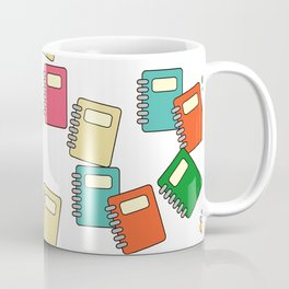 Library Neck Gator Notebooks Books Coffee Mug