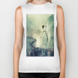 Spirit of the Night by John Atkinson Grimshaw Biker Tank
