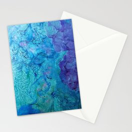 Sea Foam Stationery Cards