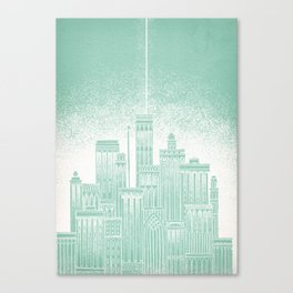 Uranus Celestial City Canvas Print