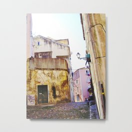 ANOTHER STREET IN LISBON Metal Print