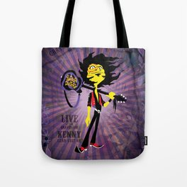 Kenny - Guitar. The Twitch Doctors Tote Bag