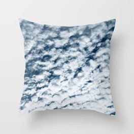 Breathtaking Buttermilk Clouds Big Sky Photo Throw Pillow