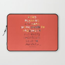 Good planning Laptop Sleeve