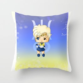 Sailor Uranus Throw Pillow