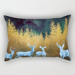 Midnight Meeting Rectangular Pillow