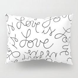 Love is Love Infinity Heart Pillow Sham