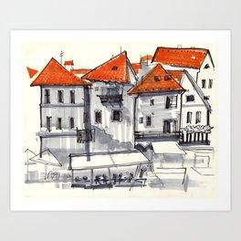 Czech Out Art Print