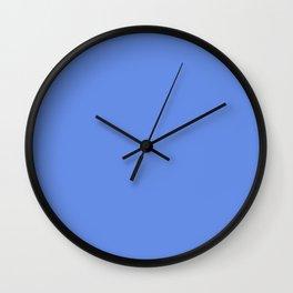 Blue wave. Wall Clock