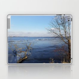 More Than Seven Swans A Swimming And A Sitting On The Second Day Before Christmas Laptop & iPad Skin