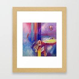 Eye of the Storm by Nadia J Art Framed Art Print