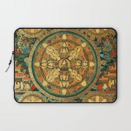 Mandala Buddhist 41 Laptop Sleeve