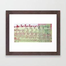 abstract 117 Framed Art Print