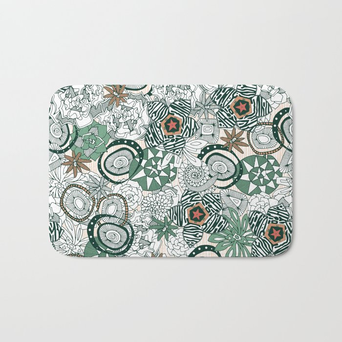 succulents limited Bath Mat