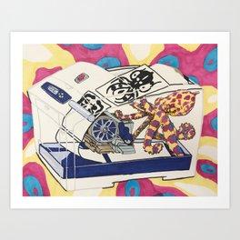 How it Works-Inkjet Printer Art Print