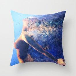 Deep Bass III Throw Pillow