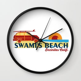 Encinitas - California. Wall Clock