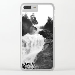 Shannons fall Clear iPhone Case