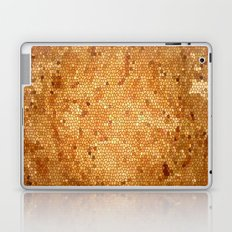 gold mosaic pattern Laptop & iPad Skin