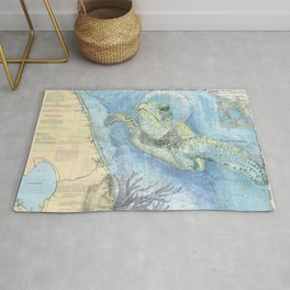 West Palm Beach Turtle Rug