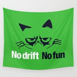 No drift No fun v7 HQvector Wall Tapestry