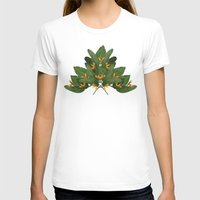 tropical T-shirts featuring tropical floral by Laura Graves